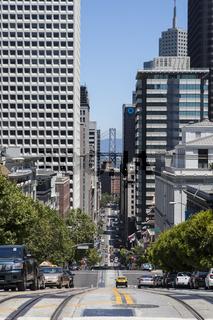 Straßen von San Francisco, Kalifornien, USA