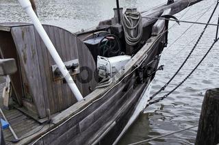 Fischerboot Holz
