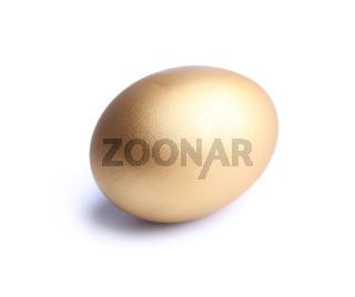 Golden egg, a symbol of making money