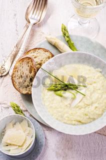 asparagus creme soup