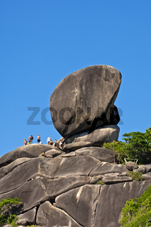 Sail Rock Felsen im Nationalpark Mu Ko Similan