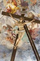 Jesus nailed to the cross, Sacro Monte di Varese