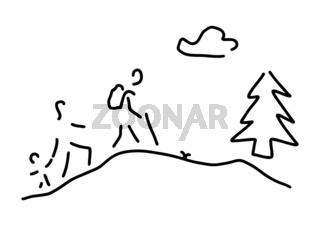 wandern walking wanderung