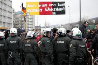 Pegida-Demo in Wuppertal