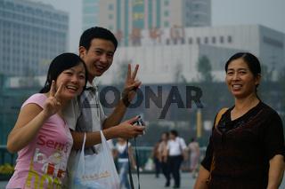 Chinesen in Chengdu - Sichuan