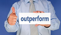 outperform - thumbs up