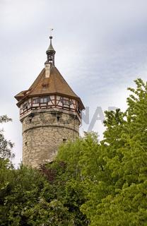 Wehrturm der Festung Munot in Schaffhausen