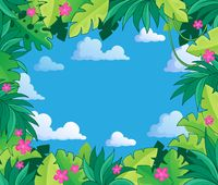Image with jungle theme 2 - picture illustration.