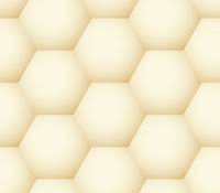 Seamless pattern - geometric honeycomb like simple modern background