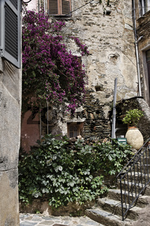 Nonza, Cap Corse (Westküste), Korsika, Dorf