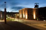 Abend an der Grube Reden, Schiffweiler, Saarland, D