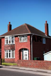 Typical redbrick british house