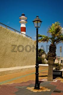 Leuchtturm, Rota, Andalusien