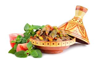 Tajine with meat