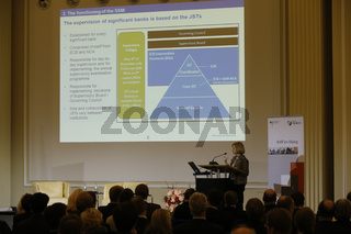 BMF dialog in Berlin with Danile Nouy