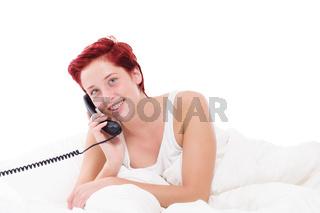 telefonanruf im bett