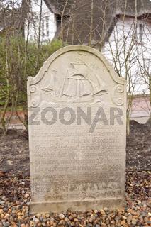 Historic Sailor Tombstones on Amrum