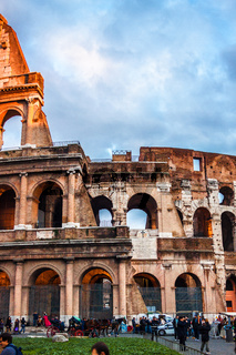 The Iconic, the legendary Coliseum of Rome, Italy