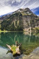 Lake Vilsalpsee, Tannheimer Tal valley, Austria