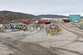 Mülldeponie in Grönland