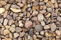 Raw brown stones texture