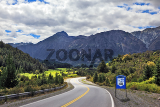 The  Route 40, southern Argentina