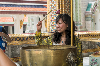 Wat Phra Kaew in bangkok grand palace