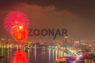 Pattaya International Firework Festival 2012