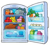 Image with fridge theme 1 - picture illustration.