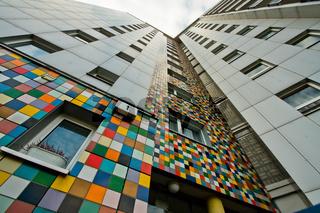 Hochhaus, Mosaik