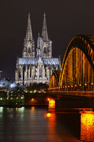 Hohenzollern Bridge, Cathedral, Philharmonic Hall,
