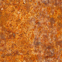 Seamless texture of rusty metal surface. Grunge photographic pattern