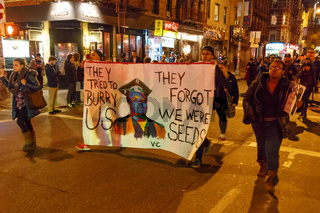 Ferguson Protests in NYC