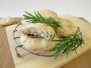 Brotfladen mit Rosmarin