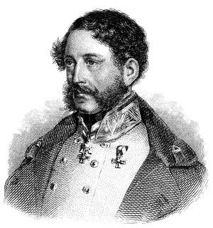Count Eduard Clam-Gallas, 1805 - 1891, an Austrian General