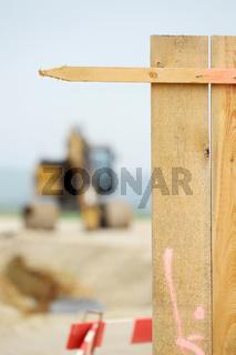 Bar on a construction site