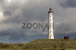 Leuchtturm Lyngvig, Dänemark, Europa