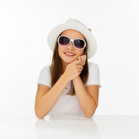 Cute trendy young girl