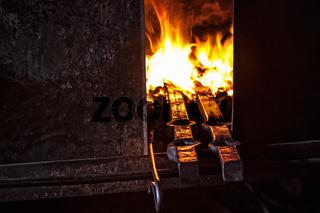 Eisen im Feuer