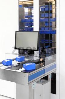 Material handling workstation