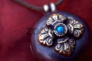 Tibetisches Amulett
