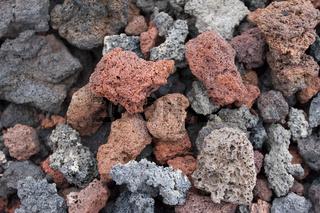 Lava-Gestein
