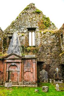 KILCREA, IRELAND - NOVEMBER 28: Kilcrea Friary on November 28, 2012 in Co.Cork, Ireland