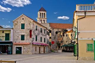 Adriatic Town of Vodice, Croatia