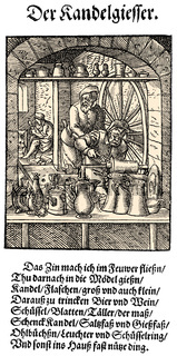 1568, description of the trades by Hans Sachs,
