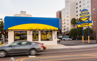 Amscot money superstore in Tampa Florida
