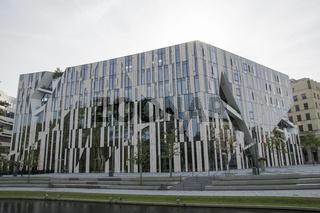 Liebeskindbau, Kö-Bogen, Düsseldorf, NRW, Deutschland