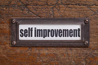 self improvement label