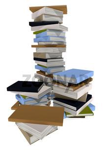lot of books