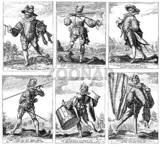 The life guard of Emperor Rudolf II, 1552 - 1612